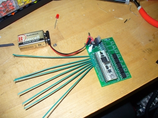 Testing the controller board