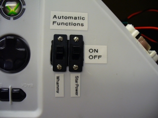 Front of autonomous selection switches